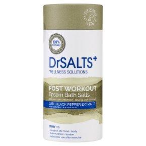 DrSalts Post Workout Epsom Bath Salts