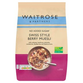 Waitrose Swiss Style Berry Muesli