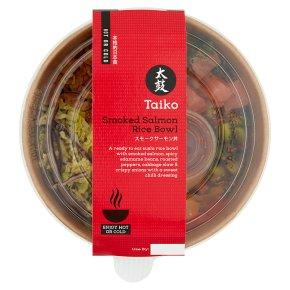Taiko Smoked Salmon Rice Bowl