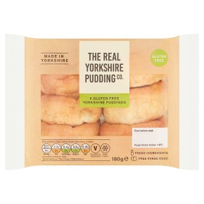 Yorkshire Pudding Co 6 Gluten Free Yorkshire Puddings