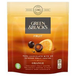 Green & Blacks Velvet Fruits Orange