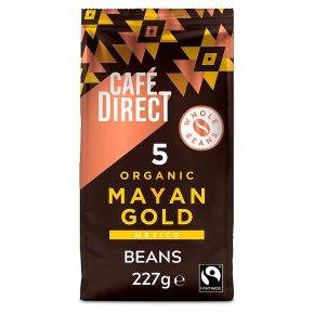 CafeDirect Organic Mayan Gold Whole Beans