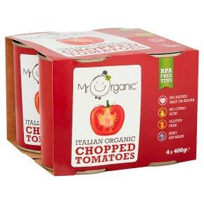 Mr Organic Italian Organic Chopped Tomatoes