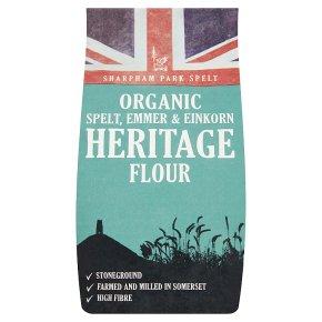 Sharpham Park Spelt Emmer Einkorn Heritage Flour
