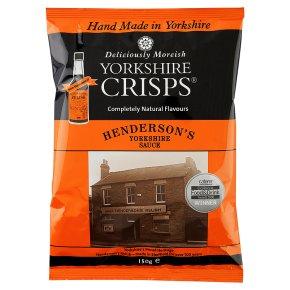 YorksC Hendersons York Sauce Crisps