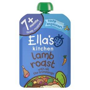 Ella's Kitchen Lamb Roast Dinner