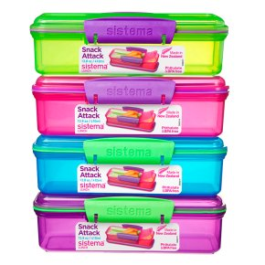 Sistema Snack Attack Container