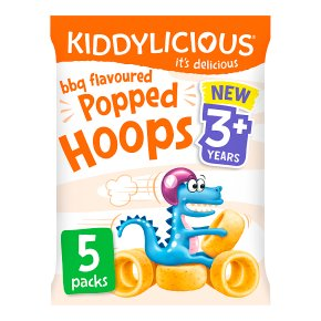 Kiddylicious BBQ Popped Hoops