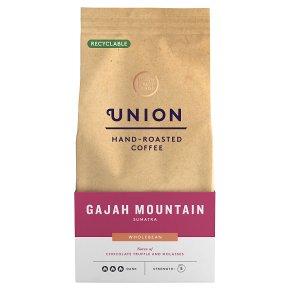 Union Coffee Gajah Mountain Sumatra Wholebean