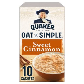 Quaker Oat So Simple Sweet Cinnamon 10s