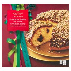 Waitrose Christmas Gianduia Torta Da Festa