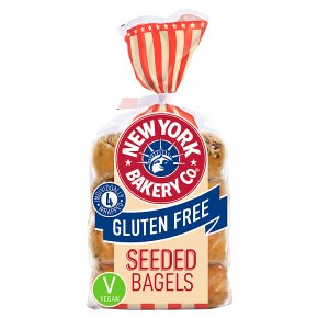 New York Bakery Co. Gluten Free Seeded Bagels