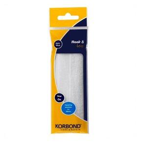 Korbond Hook & Loop White Sew On