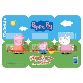 Peppa Pig Strawberry Fromage Frais