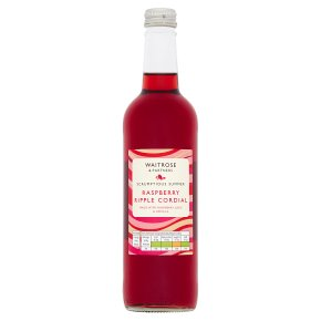 Waitrose Raspberry Ripple Cordial