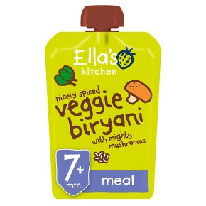 Ella's Kitchen Veggie Biryani