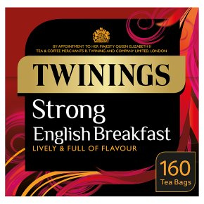Twinings Strong English Breakfast 160 Tea Bags