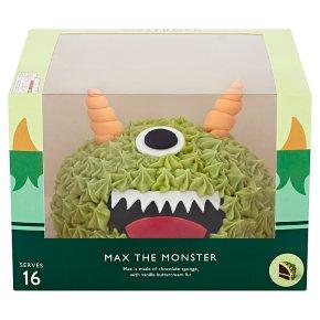 Waitrose Max the Monster Celebration Cake