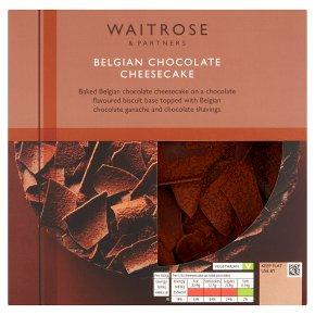Waitrose Belgian Chocolate Cheesecake