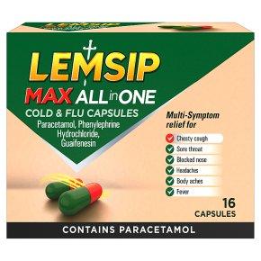 Lemsip Max All In One Capsules