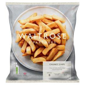 Waitrose Frozen Crisp & Fluffy Chunky Chips