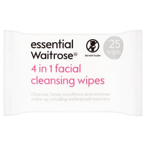 Essential 4 in 1 Facial Wipes