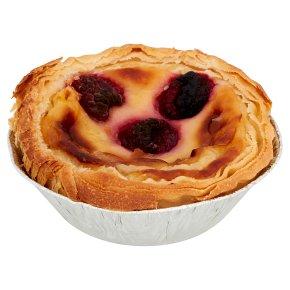 Pastel de Nata Raspberry Portuguese Custard Tart