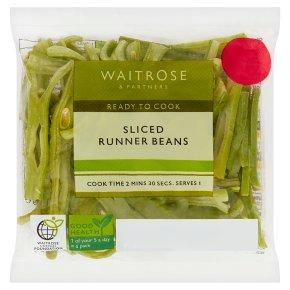 Waitrose Sliced Runner Beans