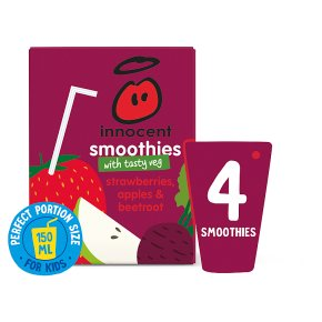 Innocent Smoothies Just for Kids Apple Strawberry Beetroot