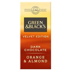 Green & Black's Velvet Edition Orange & Almond