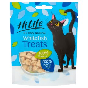HiLife White Fish Treats Cat