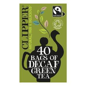 Clipper Organic Decaf Green Tea 40 Tea Bags