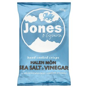 Jones Sea Salt & Vinegar Crisps