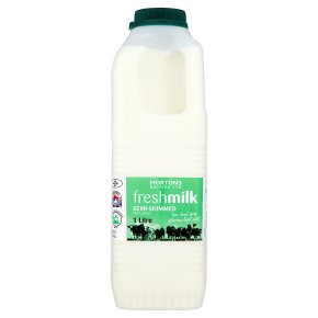 Mortons Dairies Ltd fresh milk semi-skimmed