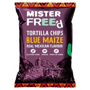 Mister Free'd Tortilla Chips Blue