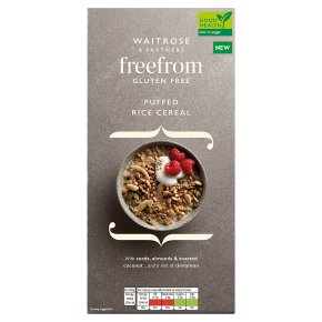 Waitrose Free From Rice Cereal