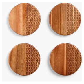 John Lewis Fusion Pattern Coasters Set of 4