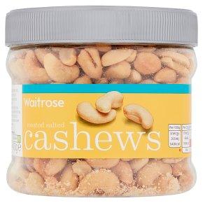 Waitrose roasted salted cashews