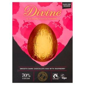 Divine 70% Dark Chocolate with Raspberries