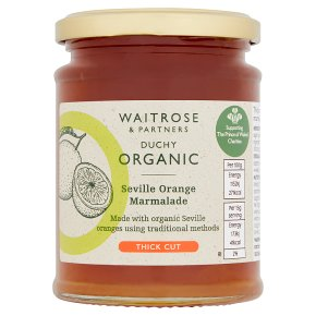 Waitrose Duchy Seville Orange Thick Cut Marmalade