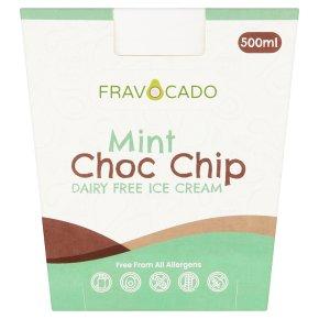 Fravocado Mint Choc Chip Ice Cream