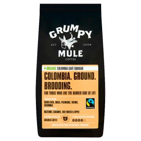 Grumpy Mule Fairtrade Coffee Colombia