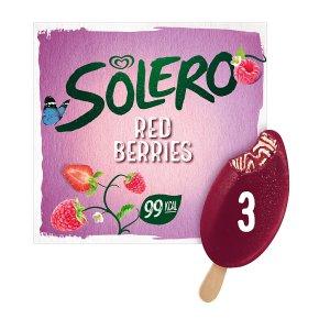 Solero Red Berries Stick Bars 3s