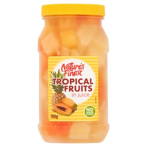 Nature's Finest Tropical Fruit in Juice