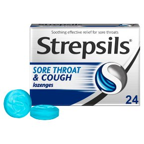 Strepsils Sore Throat & Cough