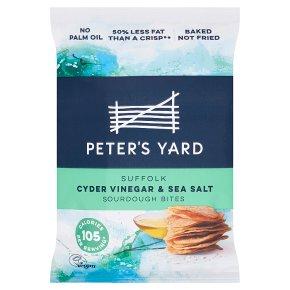 Peter's Yard Cyder Vinegar & Salt Sourdough Bites