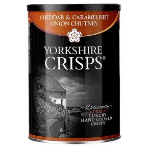 YorksC Cheddar & Onion Crisps