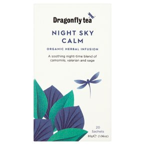 Dragonfly Tea Night Sky Calm Herbal Infusion 20s