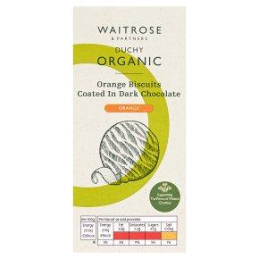 Duchy Organic Orange Biscuits in Dark Chocolate