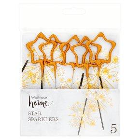 Waitrose Home Star Sparklers